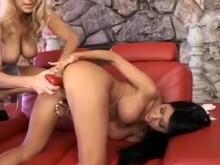 Lesbiennes matures à gros seins